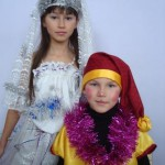 Хусановы Инна и Женя