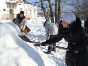 8 кл. снежные фигуры