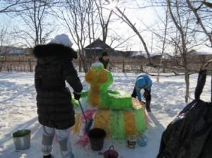 8 класс снежные фигуры