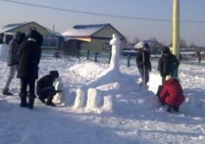 9 кл. снежные фигуры