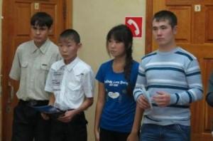 Выступление девятиклассников
