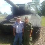 Пассар Дмитрий с отцом Олегом Тимофеевичем